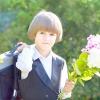 Букет з дачних квітів до 1 вересня