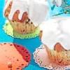 Текстильні кільця для серветок для пасхального декору столу. майстер-клас