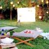 Як зробити кінотеатр в саду