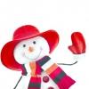 Як зробити сніговика без снігу