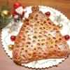 """Пиріг з мармеладом """"новорічна ялинка"""""""
