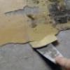 Пофарбувати стелю водоемульсійною. як зняти стару емаль