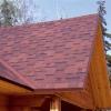 Ремонт даху з м'якої покрівлі садового будинку