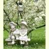Садові скульптури - з якого матеріалу ліпити