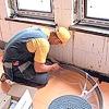 Водяне підлогове опалення - приклад монтажу
