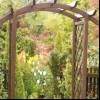 Арки в ландшафтному дизайні саду на дачі
