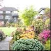 Дизайн саду в англійському стилі і його фото