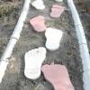 Ідея для садових доріжок