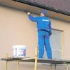 Як зробити фасадні роботи: завершальна обробка фарбою