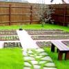 Ландшафтний дизайн городу та саду на дачі
