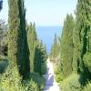 Парк в романтичному стилі на берегах тавриди