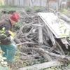 Пиляємо дрова болгаркою