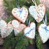 Розписне новорічне імбирне печиво.