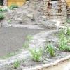Струмок у ландшафтному дизайні саду і його фото