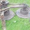 Саморобна роторна косарка для трактора і ручна косарка