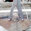 Саморобний екскаватор для очищення колодязя