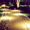 Способи і види вуличного освітлення в ландшафтному дизайні