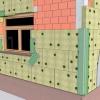 Три важливих шару «мокрого» способу утеплення фасаду будинку