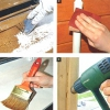 Видалити фарбу зі стелі і стін при ремонті