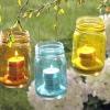Вуличні декоративні садові світильники своїми руками