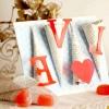 Валентинки своїми руками: листівка, свічник, ажурна підвіска, пивна валентинка