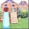 Як побудувати і зробити дитячий майданчик на дачі в саду