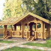 Проектування ландшафту: дерев'яні споруди