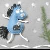 Як зробити конячку з флісу своїми руками